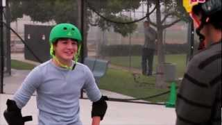 Jack Griffo BMX with Daniel Dhers