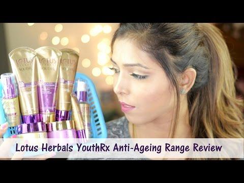 Review | Lotus Herbals YouthRx Gineplex Anti Ageing Skin Care Range | Hina Attar