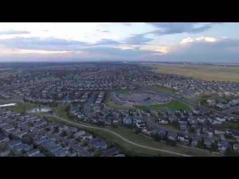 Aurora, Colorado from the air