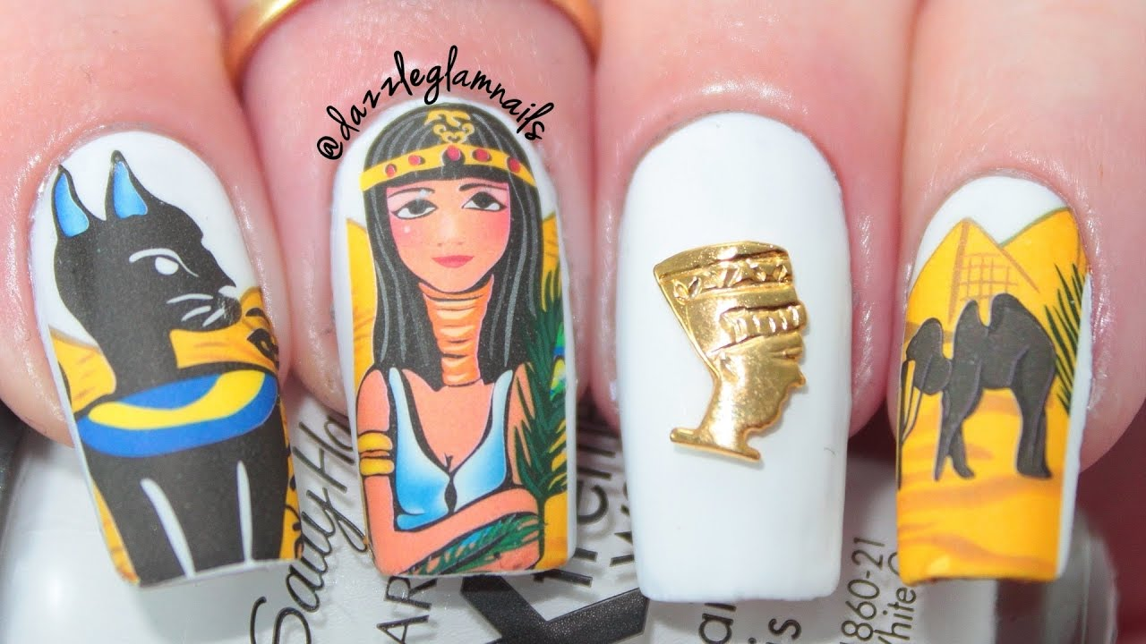 Nail Art History with Beautiful Nail Design Pictures - YouTube