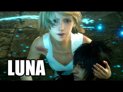 FINAL FANTASY XV - Ardyn and Luna Scene - Death Scene