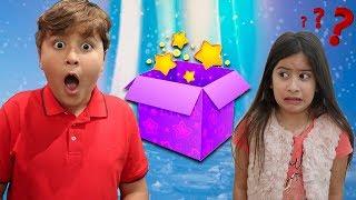 UMA CAIXA MÁGICA PARA MARIA CLARA E JP ♥ Magic box for children
