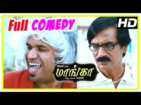 Maanga Tamil Movie Full Comedy Scenes | Part 1 | Premgi Amaren | Manobala | Chaams