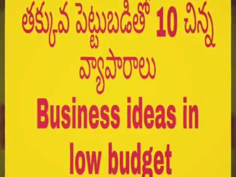 small business small business ideas in india low investment