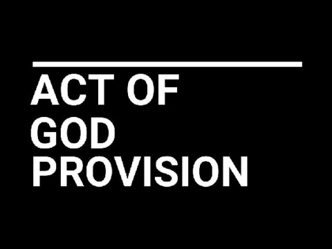 act-of-god-provision!