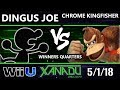 S@X 248 Smash 4 - Dingus Joe (Game and Watch) Vs. Chrome Kingfisher (Donkey Kong) - Wii U Singles WQ