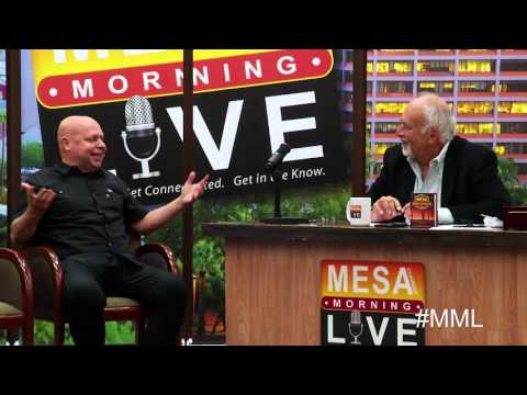 Mesa Morning Live: Matt Pinfield Talks about the Mesa Music Festival