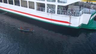 Video Ferry Boat Ride (Allen, Samar and Matnog, Sorsogon) - Philippines download MP3, 3GP, MP4, WEBM, AVI, FLV November 2017