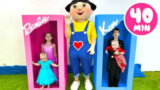 Five Kids Five big dolls Song Children's Songs and Videos