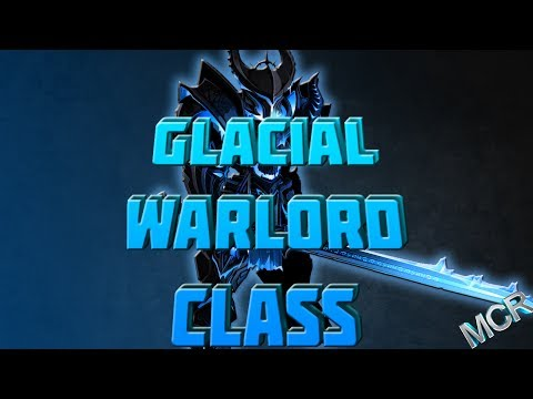 AQWorlds - How To Use Glacial Warlord Class/Enchancements/Solo!