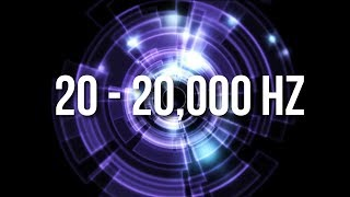 Not All Humans Can Hear This Sound. Can You? - Take the 20hz - 20000hz Audio Spectrum Test