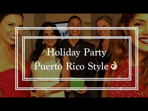 A Holiday Work Party in Puerto Rico!