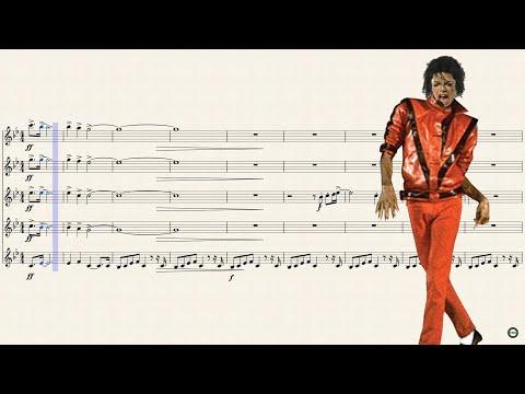 Thriller for Bb Trumpet (Quintet)