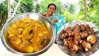ঐতিহ্যবাহী বাঙালির সুস্বাদু কচু মুখি ইলিশ রেসিপি || Traditional Bengali delicious hilsa recipe