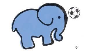 Elefante futbolero