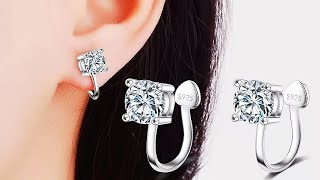 Серьги клипсы с сайта AliExpress / Earrings clips from AliExpress