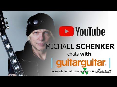 MICHAEL SCHENKER FEST - GuitarGuitar Interview (EXCLUSIVE INTERVIEW)
