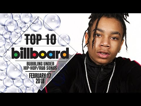 Top 10 • US Bubbling Under Hip-Hop/R&B Songs • February 17, 2018 | Billboard-Charts