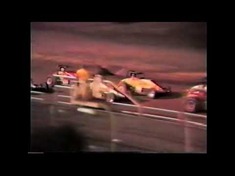 CRA sprints along with some local street stock racing.Disregard from 23:30-29:10..looks like the VHS tape was accidently recorded over at this point. - dirt track racing video image