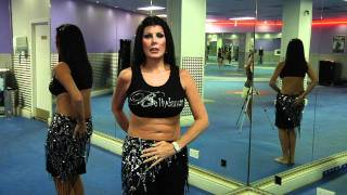 Belly Dance Tutorial - How to do a pelvic stop with Nuala