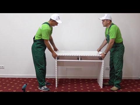 Спальня БЕЛЛА.  Как собрать туалетный столик