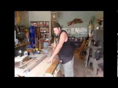Homemade Tools - diy (wood) lathe!