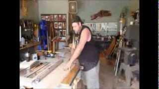 Homemade Tools - Diy (wood) Lathe!