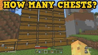 How Many Chests Can A Minecraft World Have?