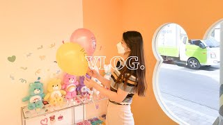 [vlog] 대학생브이로그 | 광안리소품샵 | 러브이즈…