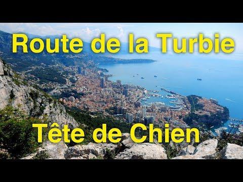 Route de la Turbie - Tête de chien - 19 mai 2018