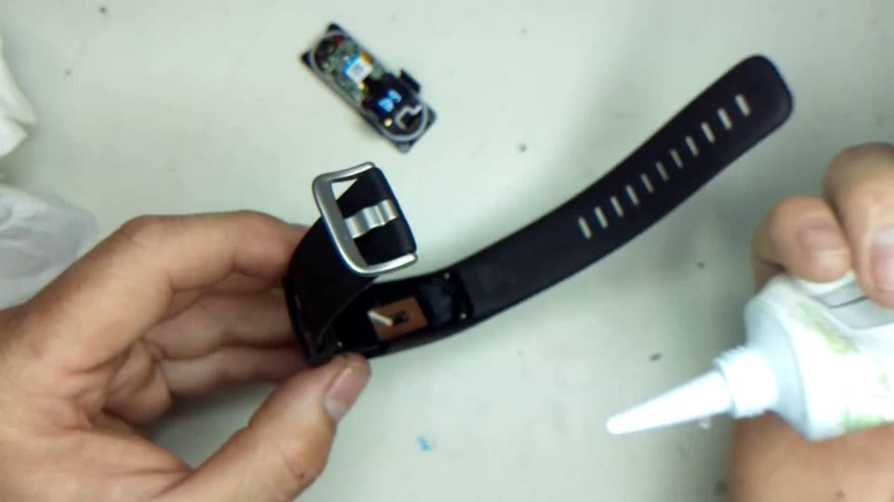 How to Waterproof your Fitbit Charge & Charge HR after Replacing the  Battery   TAE