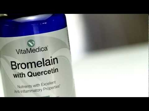 VitaMedica Bromelain & Quercetin -- A Natural Anti-Inflammatory Combination
