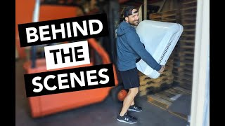 WAREHOUSE TOUR! | Nomadic Cooling HQ2 | Behind The Scenes | 12v Air Conditioners for Van Life