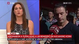 Asesinaron a puñaladas a un remisero en Alejandro Korn