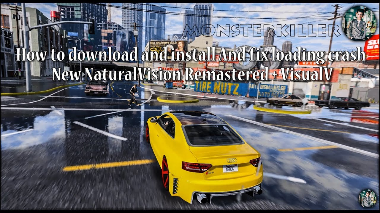 How to download and install and FIX ADD-ON Crash in ||New NaturalVision  Remastered + Visual V|| (2K)