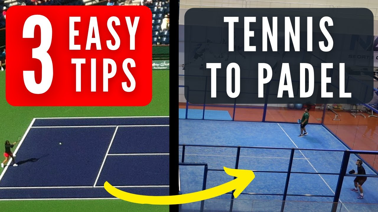 3 Padel Tips Coming From Tennis!!