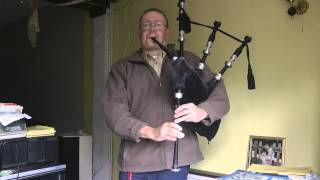 """You Are My Sunshine"" on Bagpipes"