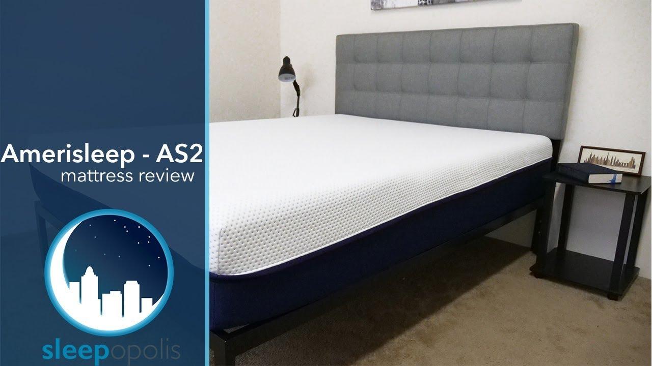 Amerisleep As2 Mattress Review Youtube