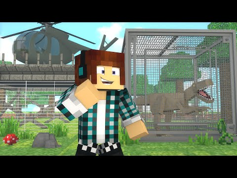 Minecraft : SALVANDO DINOSSAUROS  !! - ARK CRAFT SURVIVAL #55