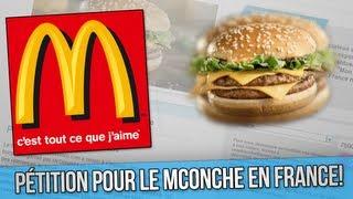 Signez la pétition pour le McOnche!