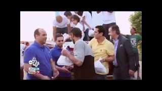 باب الخير | نجوم ورئيس قناة النهار رياضة في حملة