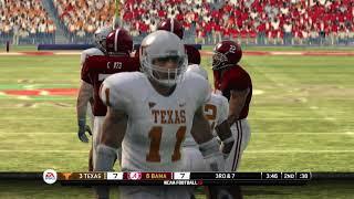 NCAA Football 10 Season NATIONAL CHAMPIONSHIP Texas Longhorns vs Alabama Crimson Tide