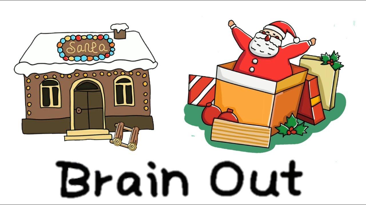 Brain Out Walkthrough Finding Santa All Levels - Christmas ...