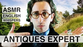 asmr antiques expert