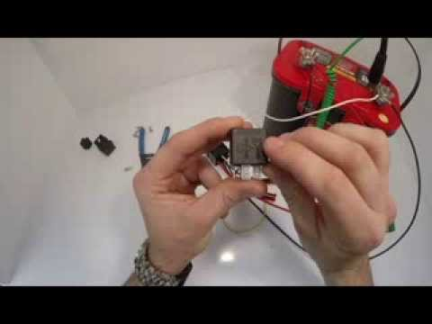 how to wire or assemble a relay circuit spst and spdt how to wire or assemble a relay circuit spst and spdt