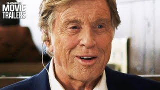 THE OLD MAN & THE GUN Trailer NEW (2018) - Robert Redford Movie