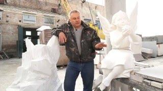 видео мрамор памятники