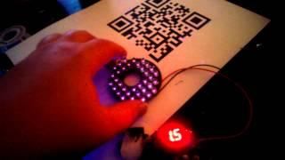 Ez robot QR code camera , IR illuminator tests