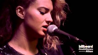 "Tori Kelly covers P!nk's ""Glitter In The Air"" LIVE + Q&A: Billboard Candid Covers"
