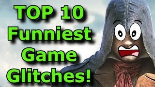 TOP 10 Funniest Game Glitches and Bugs!